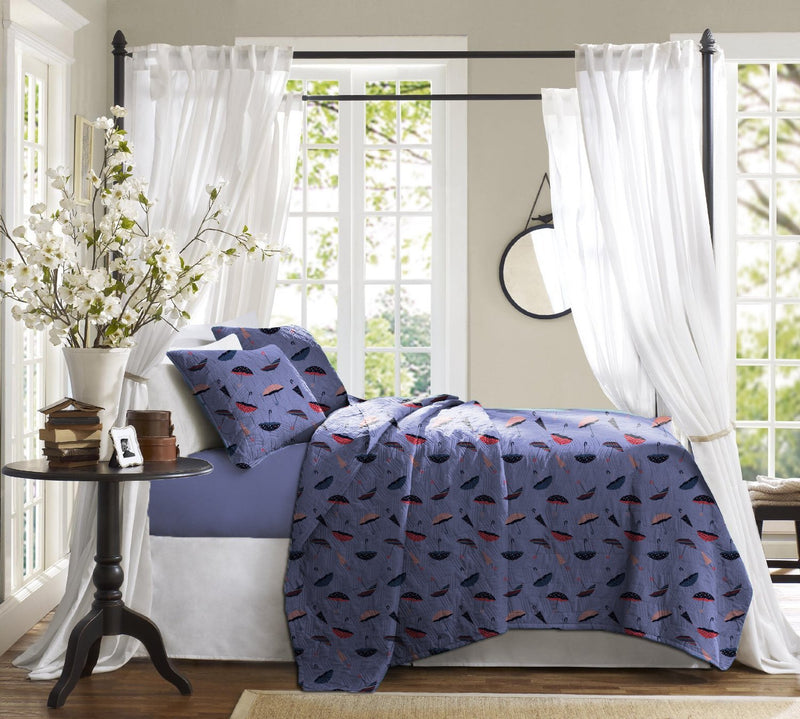 Haus & Sie Umbrella Design Bed in a Bag Bedding Set