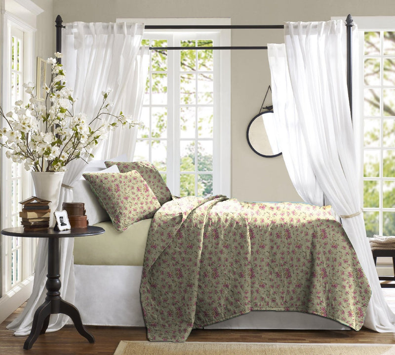 Haus & Sie Vintage Floral Bed in a Bag Bedding Set
