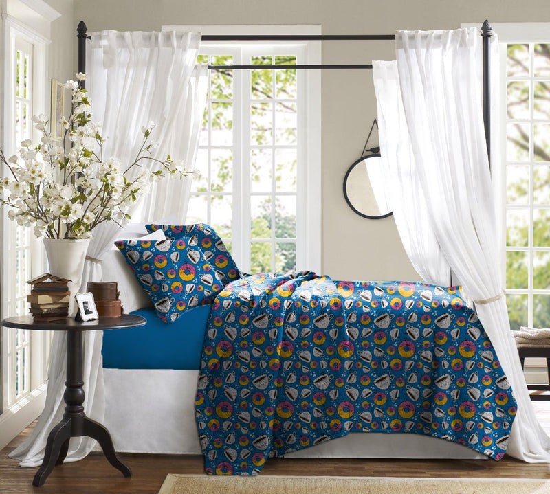 Haus & Sie Doughtnut & Coffee Bed in a Bag Bedding Set