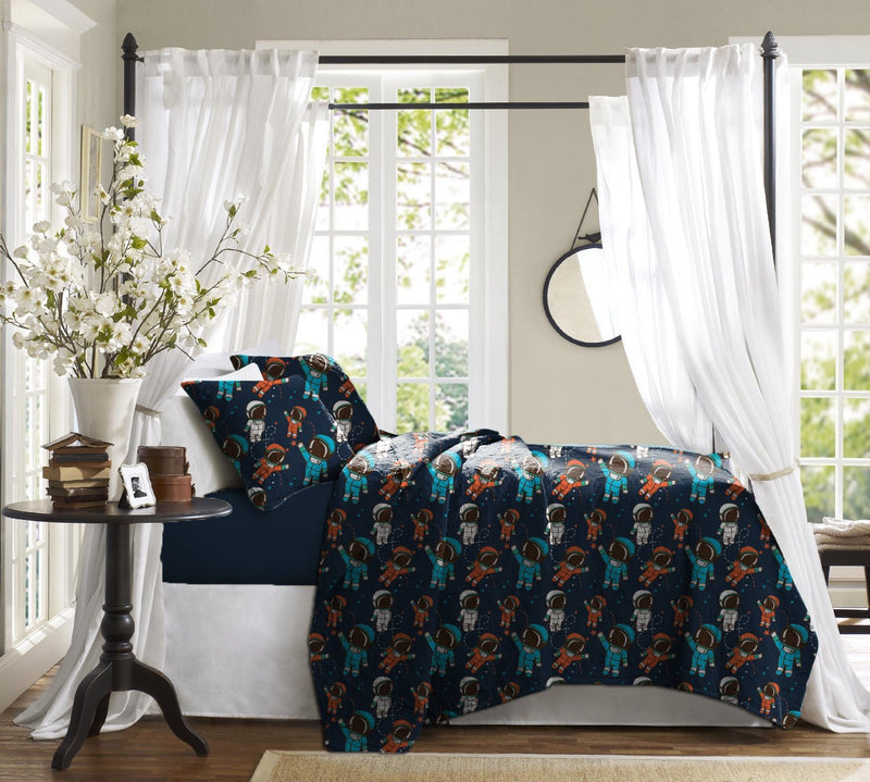 Haus & Sie Spaceman Design Bed in a Bag Bedding Set