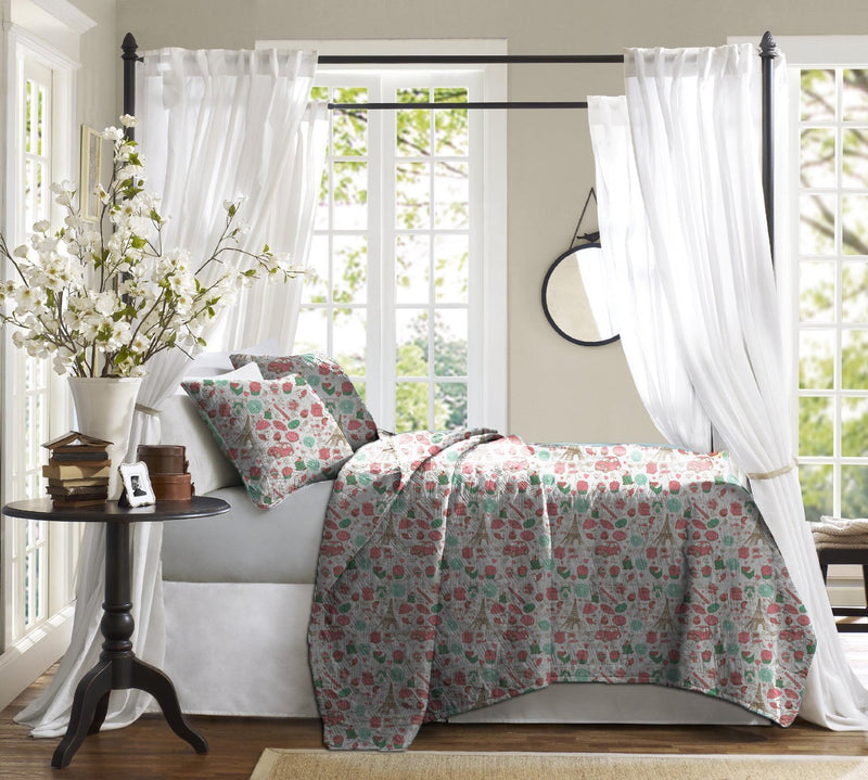Haus & Sie Paris Design Bed in a Bag Bedding Set