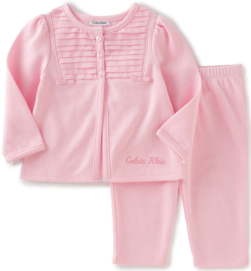 Calvin Klein Baby Girls' Jacket with Pants Set