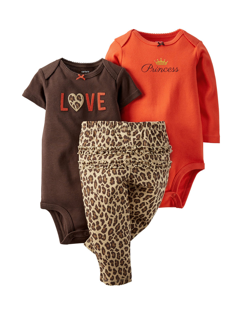 2-pc Love Bodysuit Set
