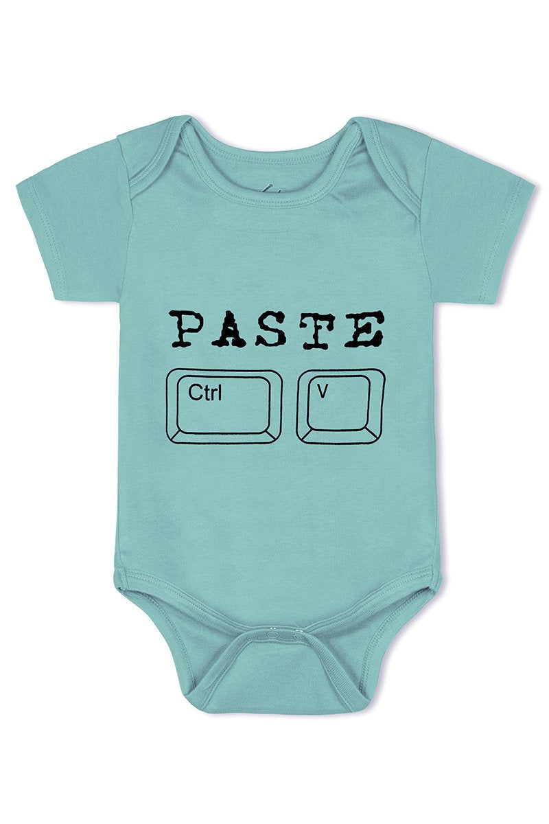 Copy Paste twins cotton baby romper