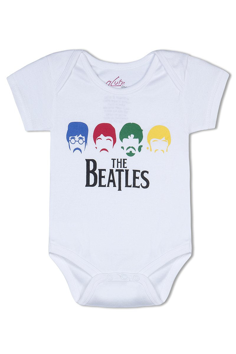 Beatles organic cotton baby romper