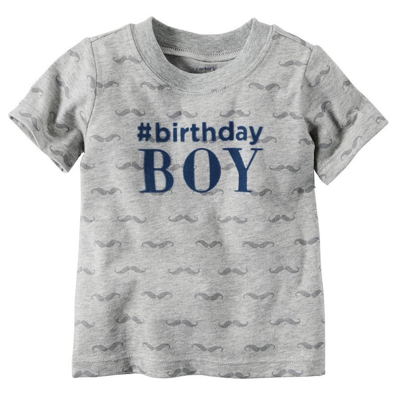 "Baby Boy Carter's ""#Birthday Boy"" Tee"