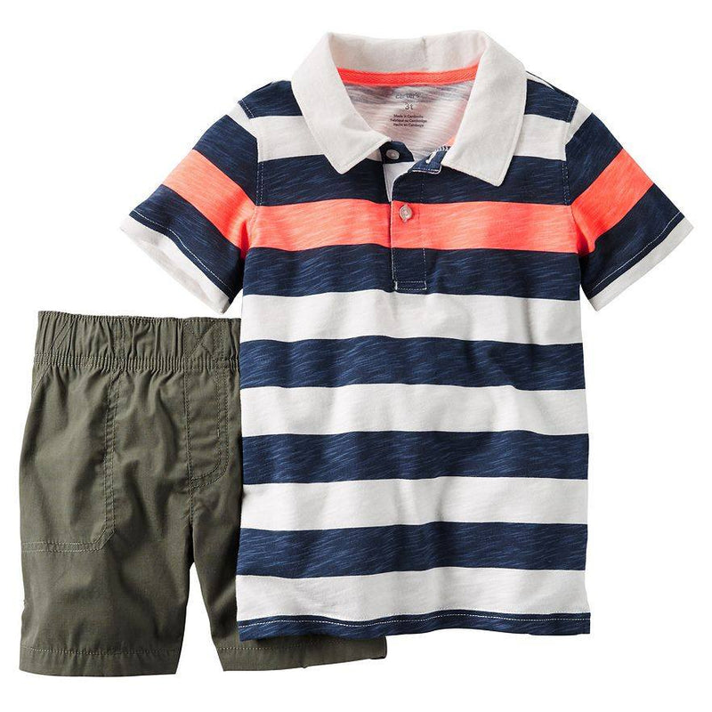 Baby Boy Carter s Polo Shirt   Shorts Set e15cc9d3a6f2