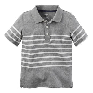Baby Boy Carter's Striped Jersey Polo