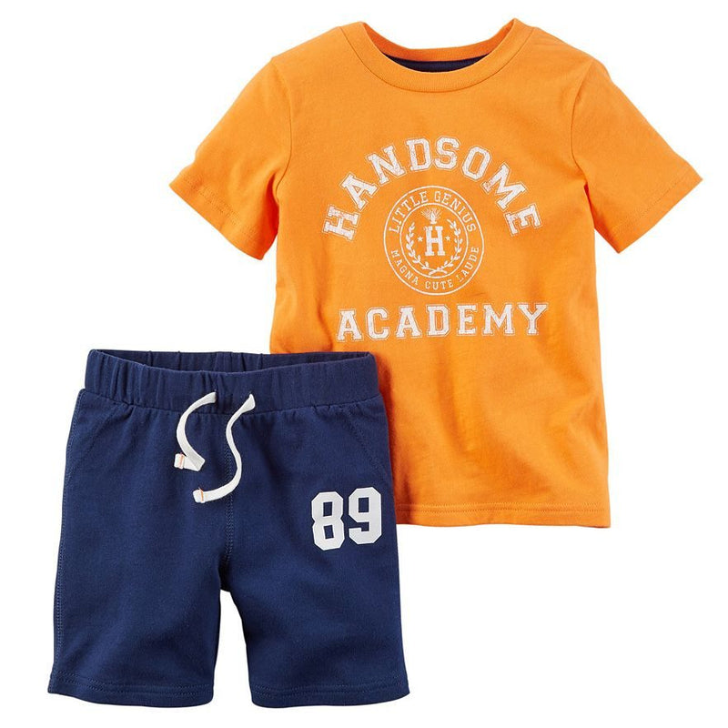 Baby Boy Carter's Tee & Shorts Set