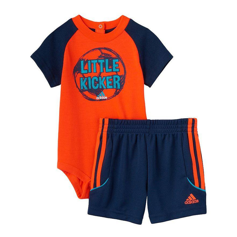 "Baby Boy adidas ""Little Kicker"" Tee & Shorts Set"
