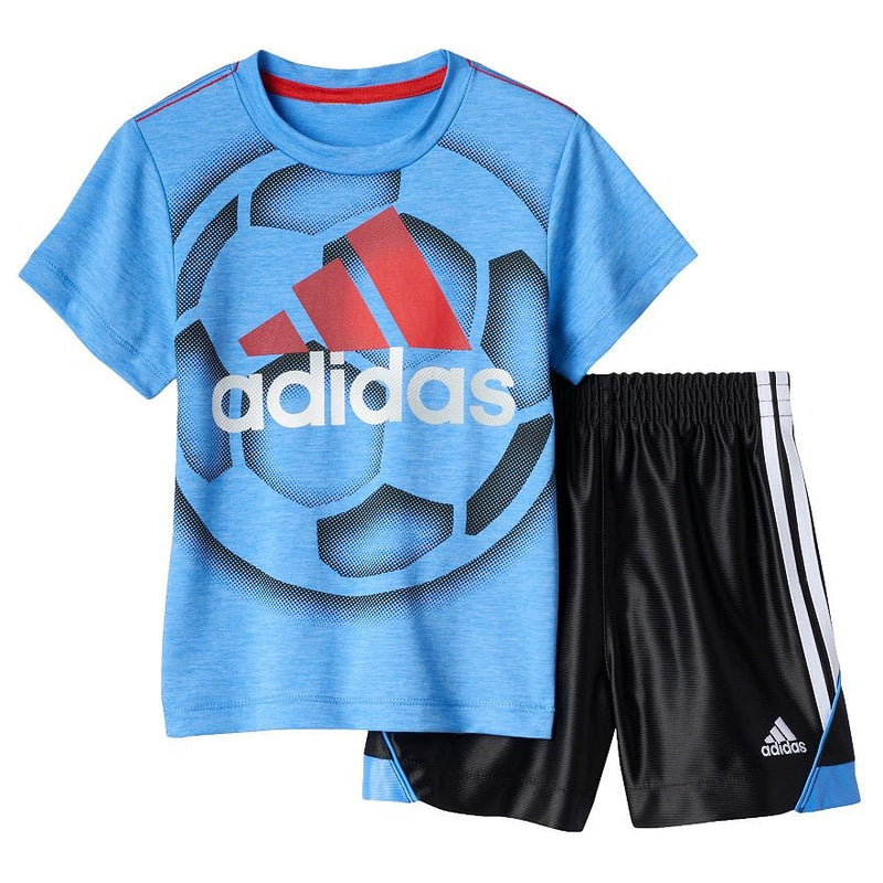 Baby Boy adidas Sport Tee & Shorts Set