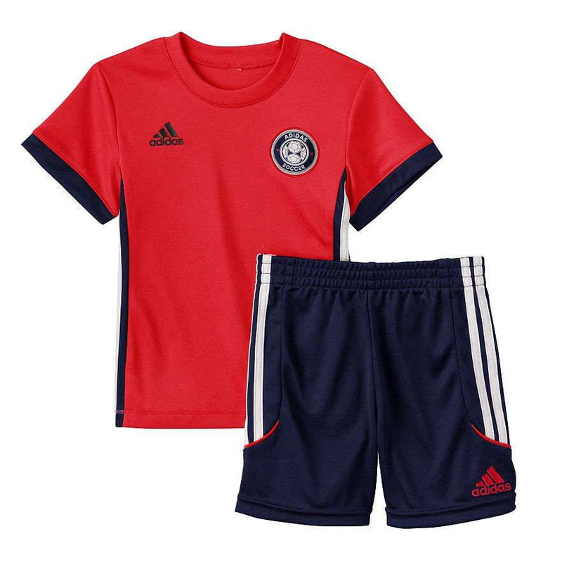 Adidas Baby Boy Tee & Shorts Set