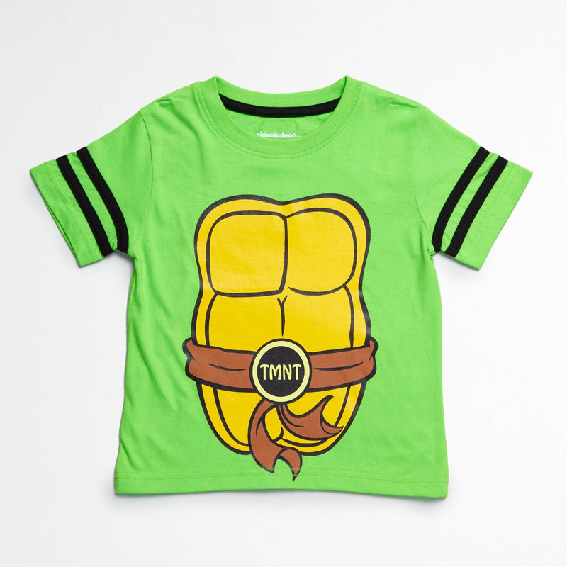Munchkinz Ninja Turtles Boys T-Shirt with Detachable Cape
