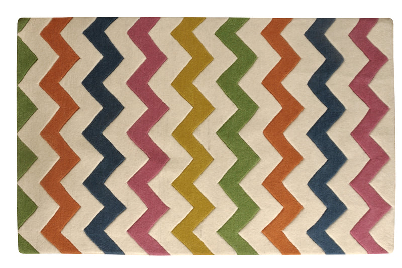 Littlelooms Chevron Kids Rug
