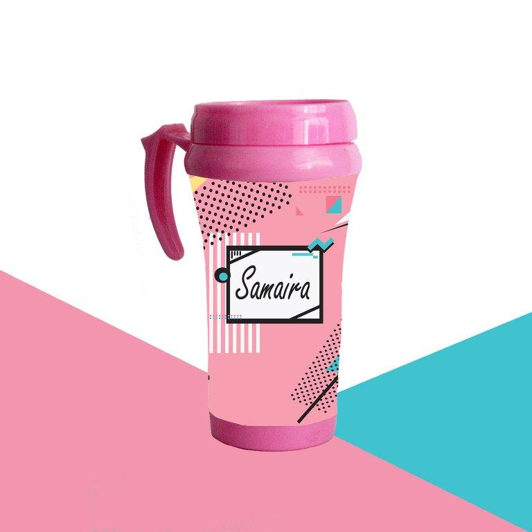 Color Pop Theme Travel Mug