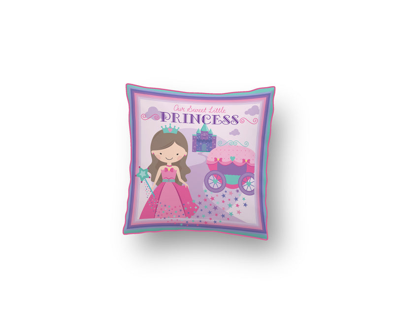 Nidokido Our Sweet Little Princess Printed Cushion Covers