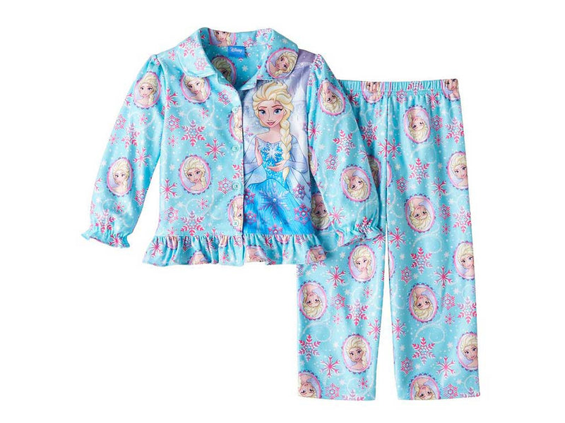 Disney's Frozen Elsa Toddler Girl Shirt & Pants Pajama Set