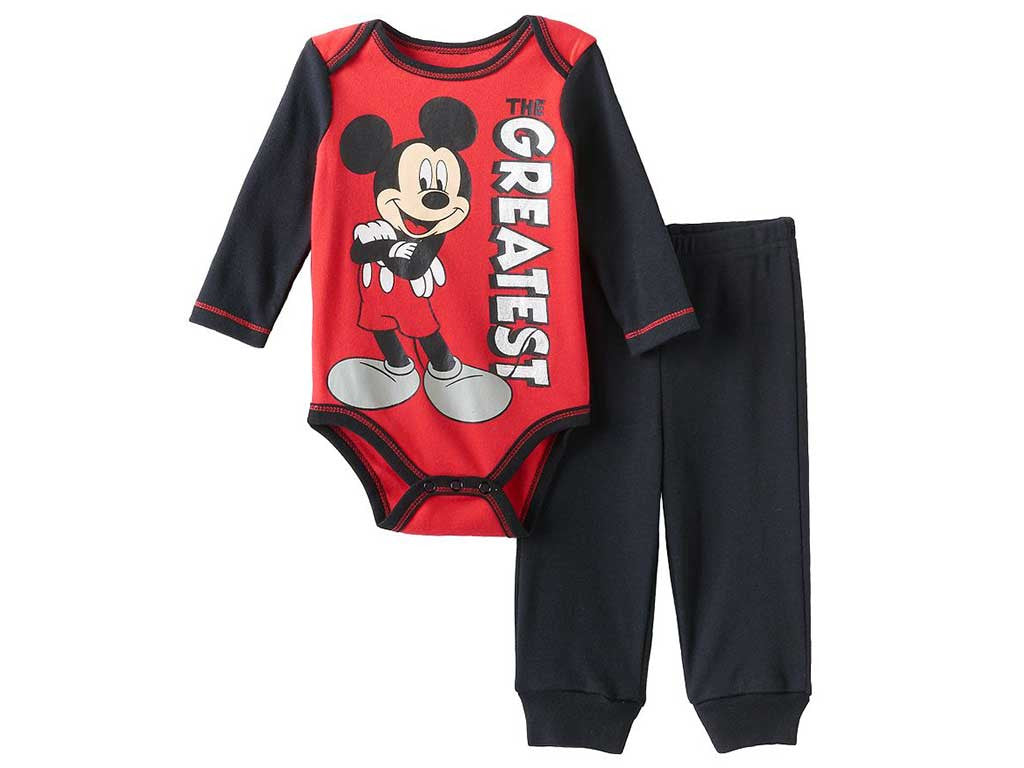 70b437a10 Buy Disney Mickey Mouse Baby Boy Bodysuits Online – Munchkinz.in