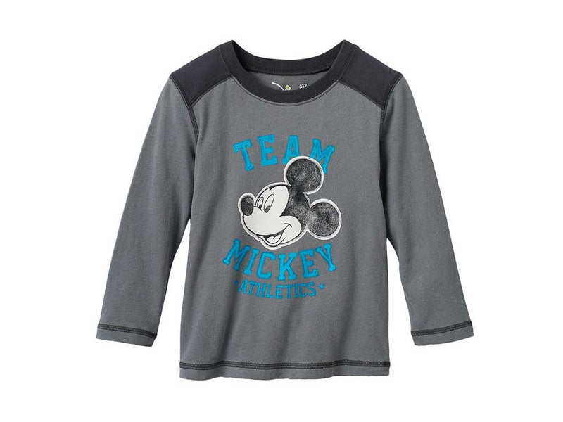 "Disney's Mickey Mouse Toddler Boy ""Team Mickey"" Tee"