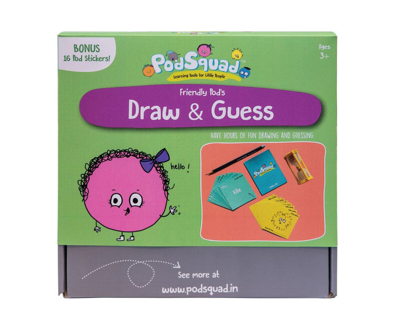 PodSquad Activity Box - Draw and Guess