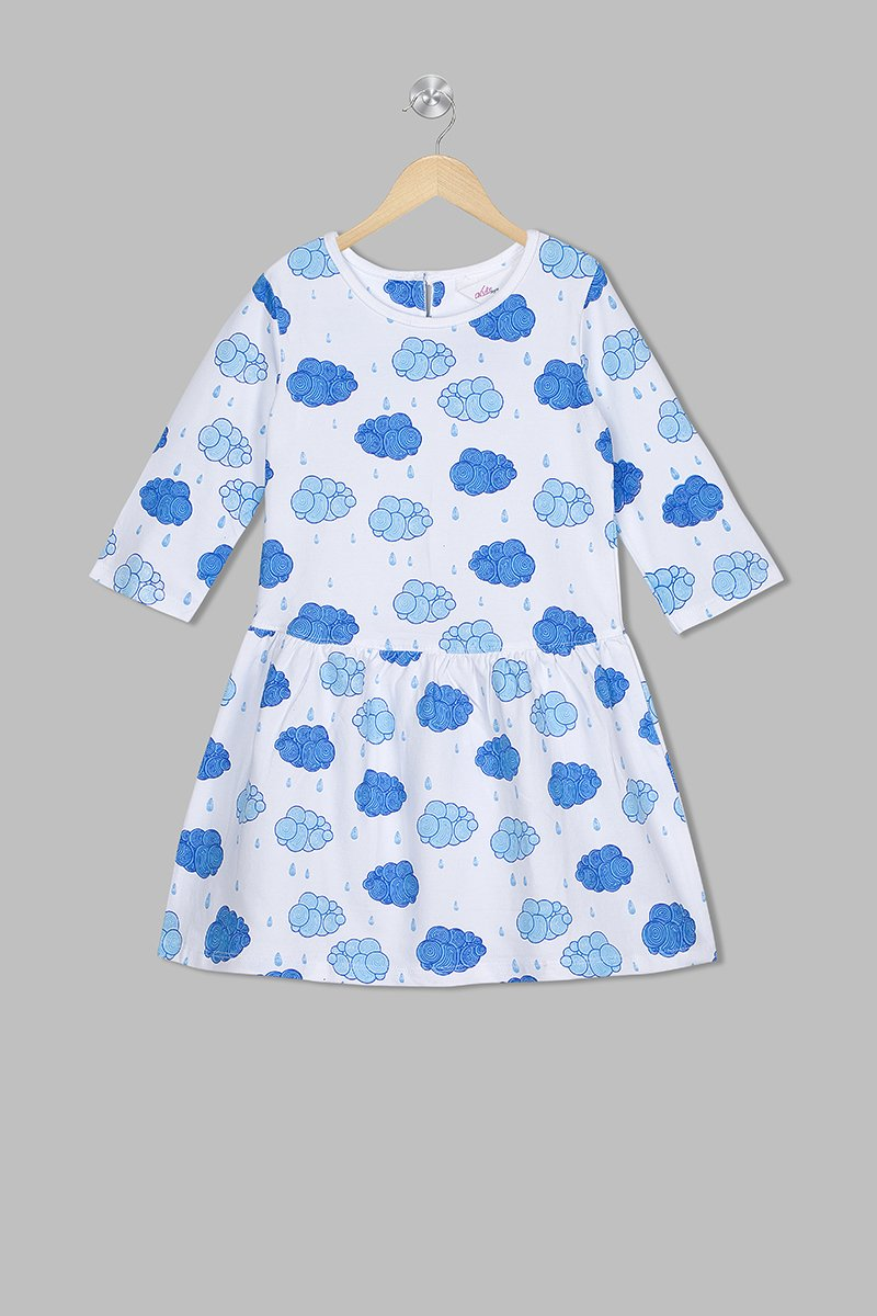 Acute Angle Carefree Clouds frock