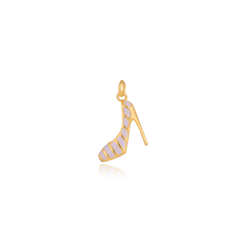 Gempetit YELLOW GOLD Plated STILETTO LOVE PENDANT