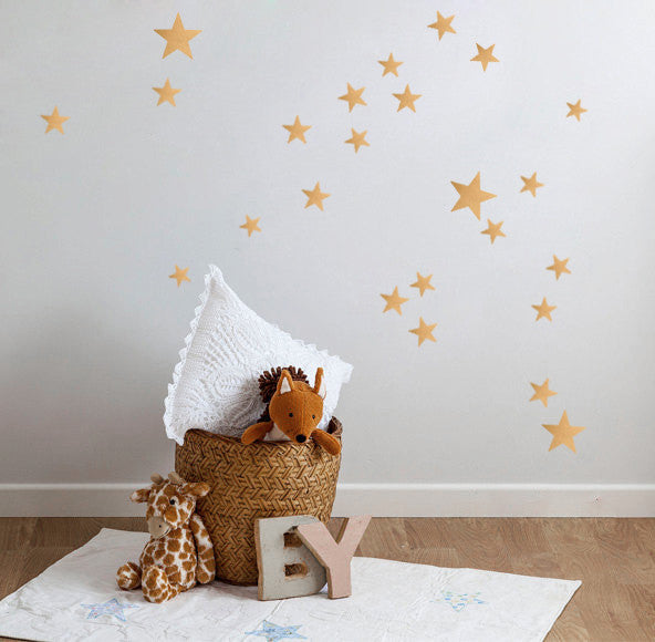 Nidokido Gold Star Wall Sticker