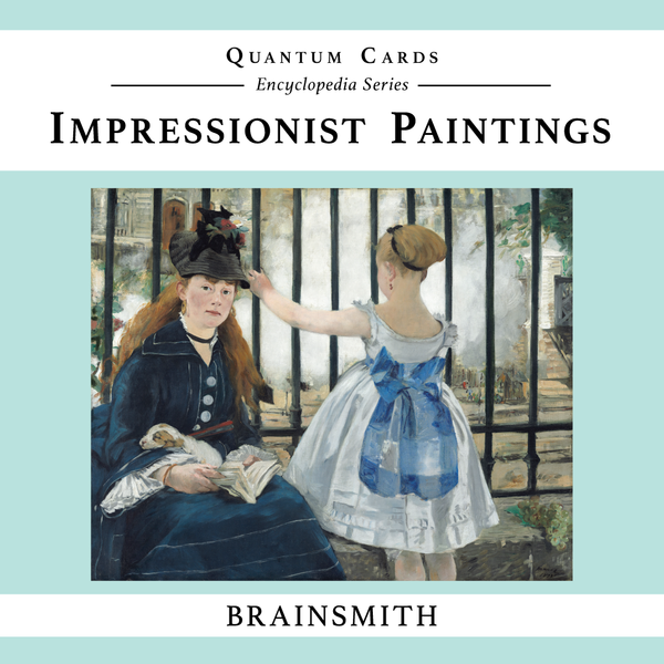 Brainsmith Impressionist Paintings Quantum Cards