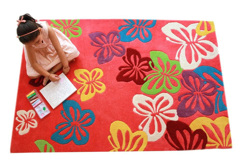 Littlelooms Fluttering Butterfly Kids Rug