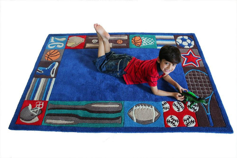 Littlelooms Sports Kids Rug