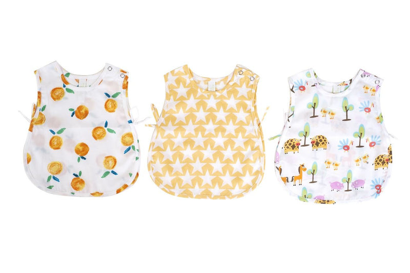 Popsicle & Nigh Nigh Kids Orange, Star and Farm Jhabla Set