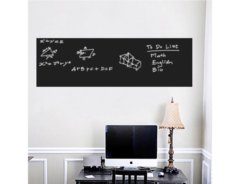 Nidokido Plain Roll Chalkboard Wall Sticker