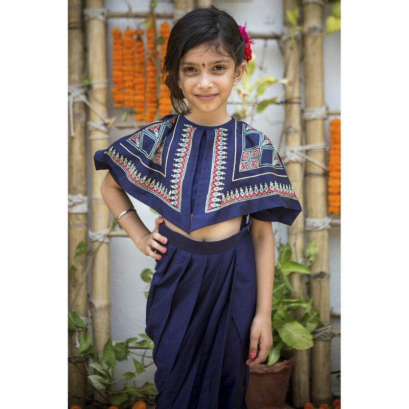 Tribal Tales Triangle Top with Dhoti Pants from Nee & Oink