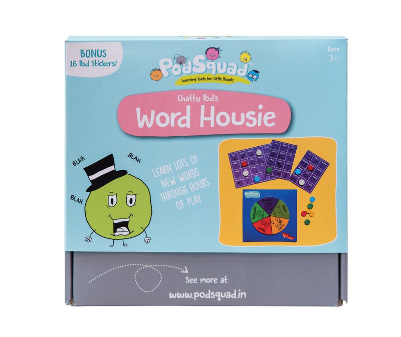 PodSquad Activity Box - Word Housie