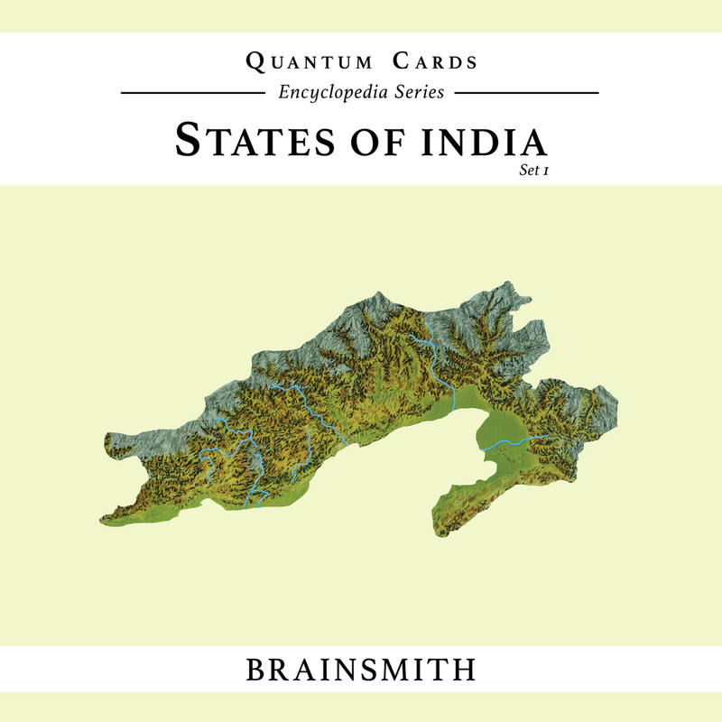 Brainsmith States of India ( Set I) Quantum Cards