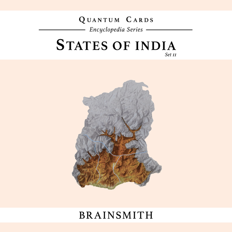 Brainsmith States of India ( Set II) Quantum Cards