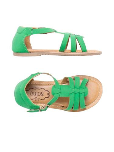 Cujos Santona Open Toe Buckle Up Sandals