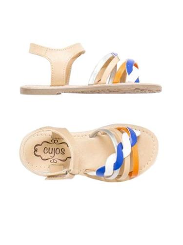 Cujos Blanes Buckle Up Sandals