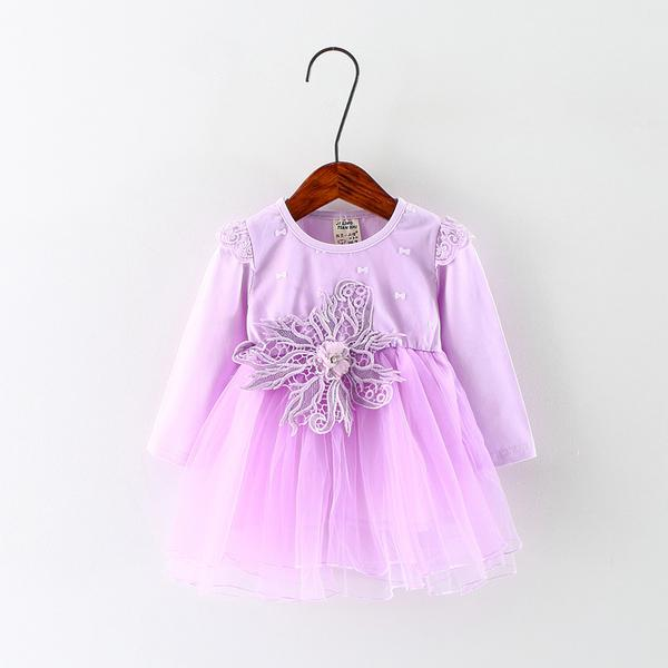 Urb N Angels Cute Purple Princess Dress