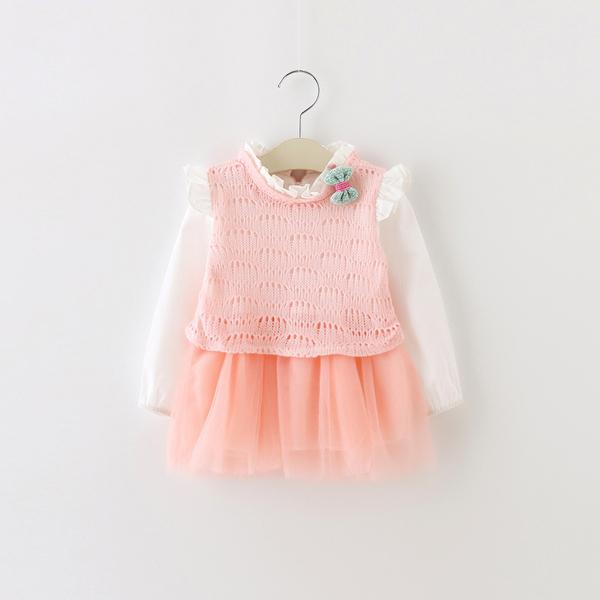 Urb N Angels Peach Autumn Dress