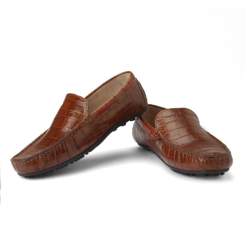 Careeno Carlo Boys' Tan Loafers