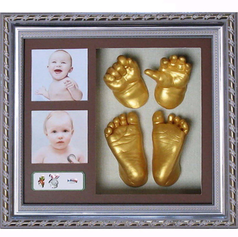 Babies Bloom Creative DIY 3D Baby Hand Footprint Kit With Photo Frame