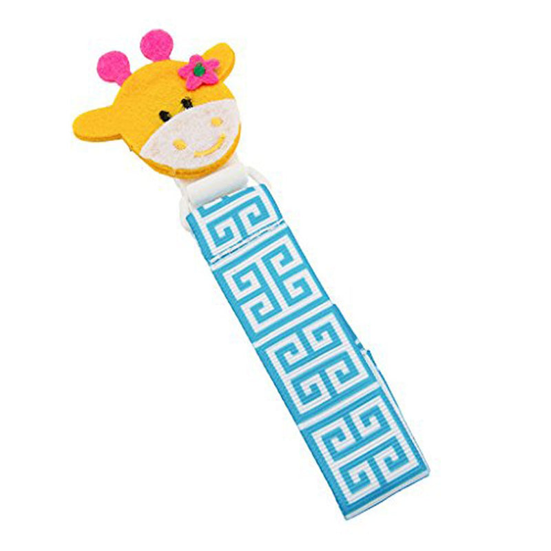 Babies Bloom Giraffe Baby Pacifier Clip - Set of 2