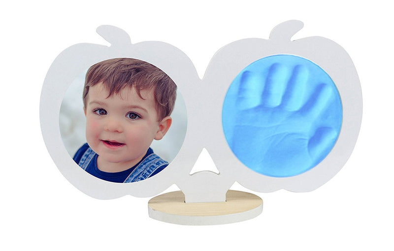 Babies Bloom Baby Keepsake Hand and Footprint Kit - White and Blue