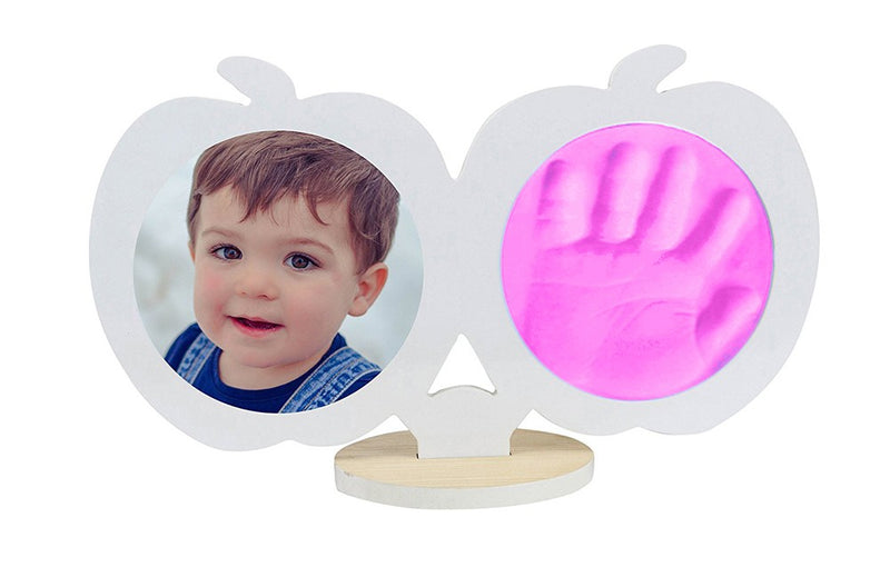 Babies Bloom Baby Keepsake Hand and Footprint Kit - White and Pink