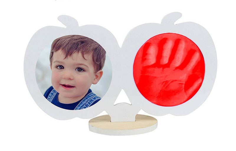 Babies Bloom Baby Keepsake Hand and Footprint Kit - White and Red