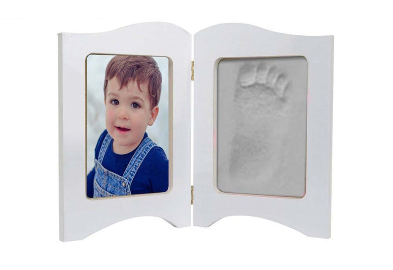 Babies Bloom Baby Keepsake Photo Frame With White Clay