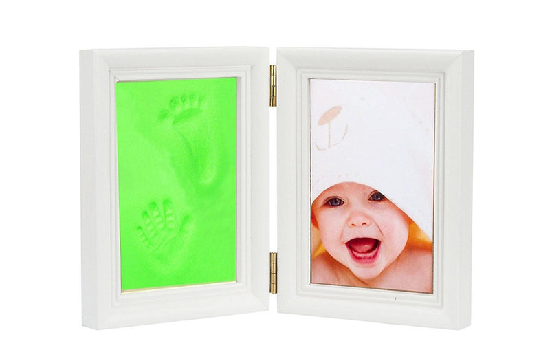Babies Bloom Baby Keepsake Life Story Imprint Frame - Green