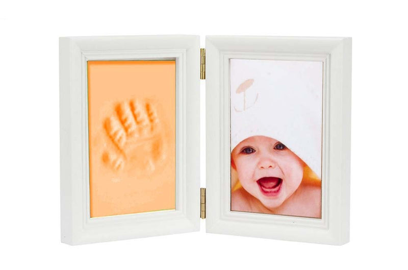 Babies Bloom Baby Keepsake Life Story Imprint Frame - Orange