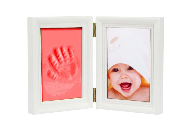 Babies Bloom Baby Keepsake Life Story Imprint Frame - Red
